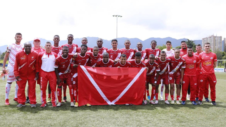 Selección Valle sub 19 masculina de fútbol clasifica a la gran final del Campeonato nacional.