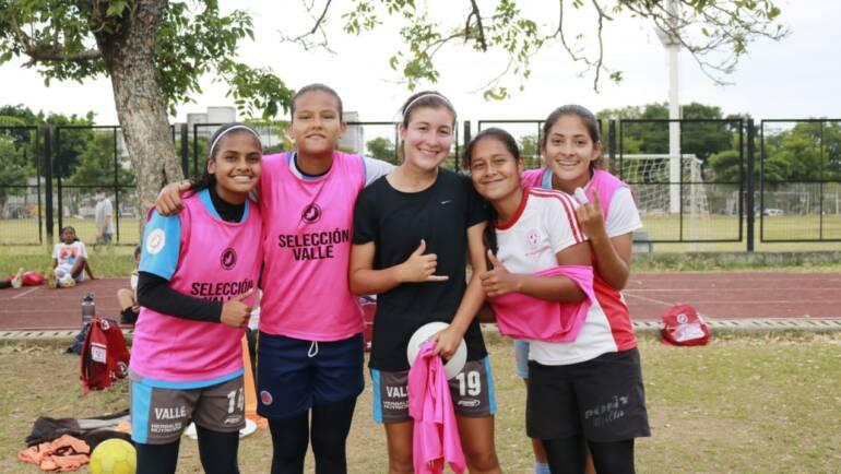 Inicia la participación de la Selección Valle sub17 femenina de fútbol