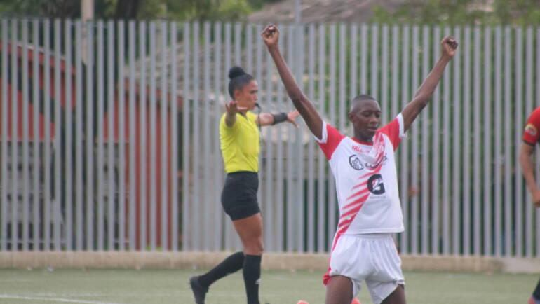 Debut con Victoria para Valle sub 17 Masculina de fútbol.